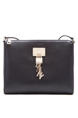 Черная сумка с подвеской DKNY 1117149131