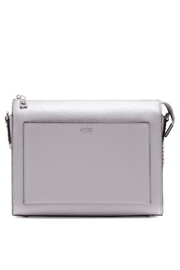 Серая сумка-кроссбоди DKNY 1117149149