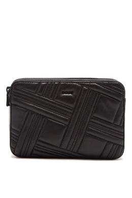 Черная фактурная сумка-кроссбоди DKNY 1117149155