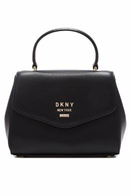 Черная сумка с логотипом DKNY 1117149157