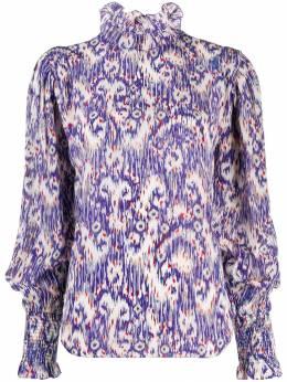 Isabel Marant Etoile блузка с абстрактным принтом HT149719A032E