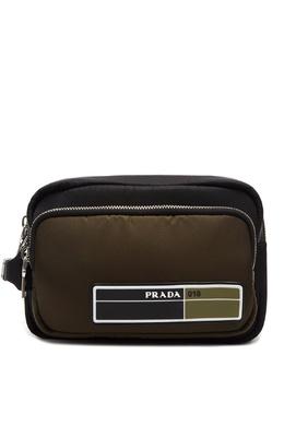 Зеленая сумка на руку Prada 40150740