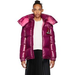 Moncler Purple Down Wilson Jacket E2093468358068950