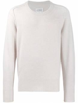 Maison Margiela трикотажный свитер с круглым вырезом S30HB0133S16896