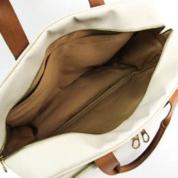 Bottega Veneta White PVC Leather Boston Bag 222915