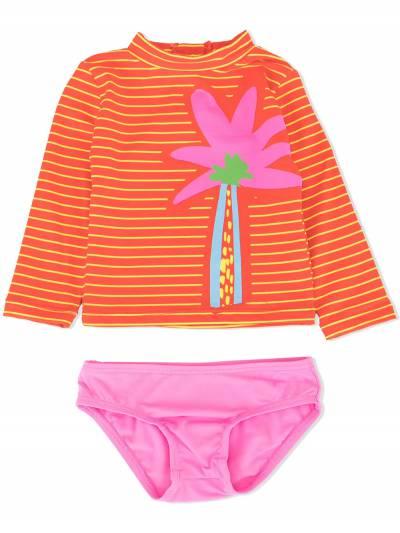 Stella McCartney Kids раздельный купальник с принтом 540088SMK13 - 1