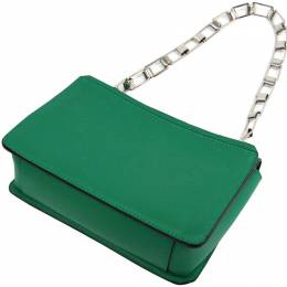 Proenza Schouler Green Leather Hava Chain Shoulder Bag 223262