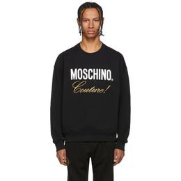Moschino Black Couture Sweatshirt 1719 5227