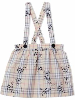 Burberry Kids костюм-двойка в клетку 8018861