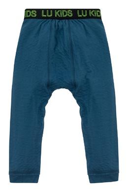 Синие спортивные брюки на мальчика Lu Kids 1979150820