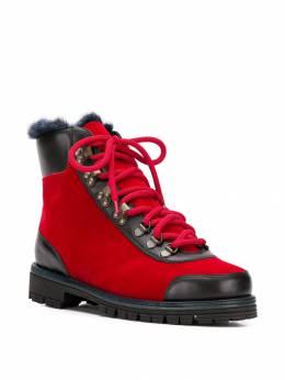 Mr & Mrs Italy ботинки с меховой отделкой PL012E