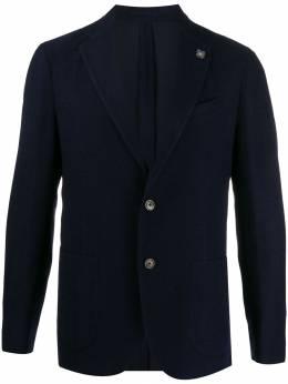 Lardini пиджак узкого кроя ILLKJ1L53037