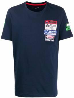 Frankie Morello футболка с нашивками FMCF9154TS