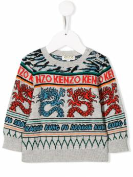 Kenzo Kids толстовка Japanese Dragon KP18528BB25