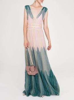Длинное струящееся платье в пол Missoni 33151165