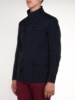 Темно-синяя куртка с карманами Etro 907151168