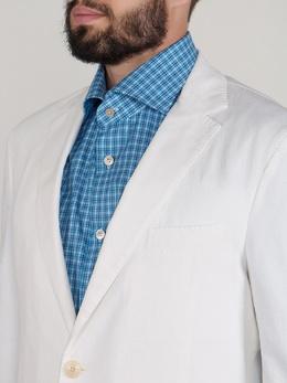 Белый пиджак на двух пуговицах Etro 907151157