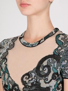 Разноцветное мини-платье Missoni 33151151