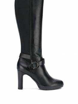 Geox buckled knee-length boots D84AEF00043
