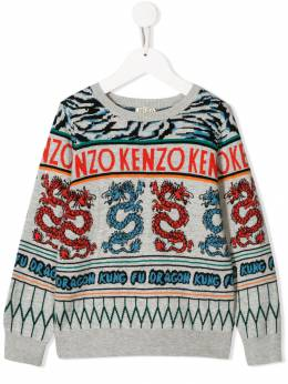 Kenzo Kids толстовка Japanese Dragon KP1852825