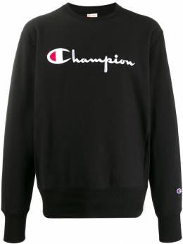 Champion толстовка с вышитым логотипом 212576FNBK