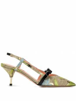 Rochas туфли-лодочки с ремешком на пятке RO32033D9060