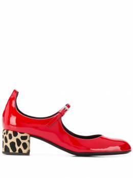 Giuseppe Zanotti Design туфли-лодочки на контрастном каблуке I960041001