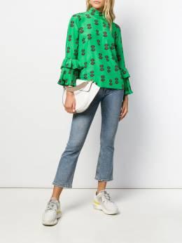 La Doublej блузка с цветочным принтом SHI0024SPO001MRG0002