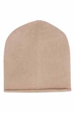 Бежевая шапка-бини Peserico 1501150944
