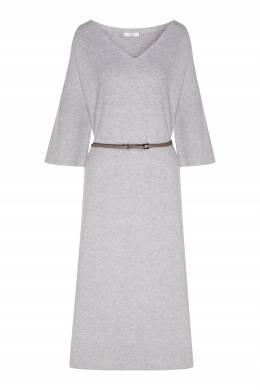 Серое платье свободного кроя Peserico 1501150936