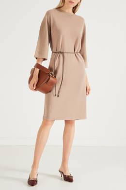 Бежевое платье из базовой коллекции Peserico 1501150921