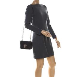 Proenza Black Leather Mini PS1 Mini Indigo Crossbody Bag Proenza Schouler 223515