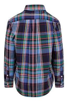 Рубашка в крупную клетку Ralph Lauren Kids 1252151635