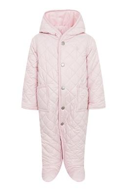 Пастельно-розовый комбинезон для ребенка Ralph Lauren Kids 1252151766