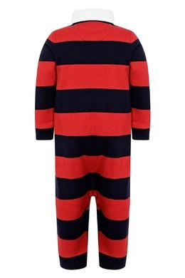 Черно-красный комбинезон Ralph Lauren Kids 1252151908