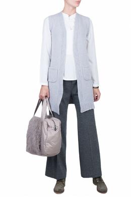 Серые брюки со стрелками Fedeli 680152218