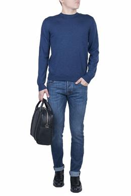 Базовый джемпер синего цвета Fedeli 680152269