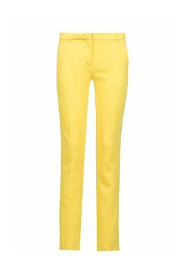 Желтые брюки из вискозы Iceberg 1214152076