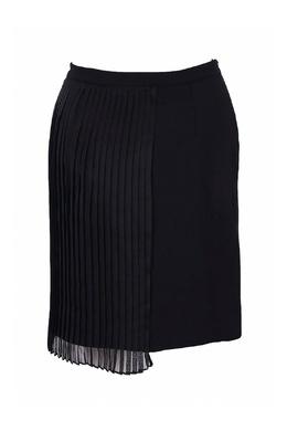 Черная юбка с плиссированной вставкой Iceberg 1214152060