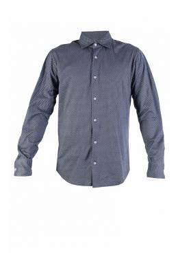 Хлопковая рубашка с узором Fedeli 680152175