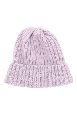 Розовая шапка-бини с отворотом Fedeli 680152282