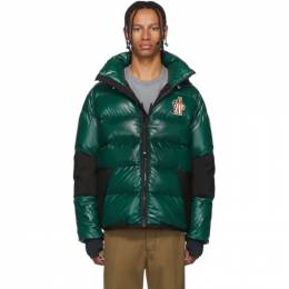 Moncler Grenoble Green Down Gollinger Puffer Jacket 41894 - 80 - 539MW