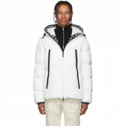Moncler White Down Montcla Jacket 192111M17802206GB
