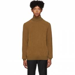 Hugo Brown Slusson Sweater 192084M20501101GB
