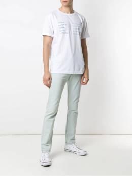 Osklen футболка с принтом Pet Earth Oceans 59295