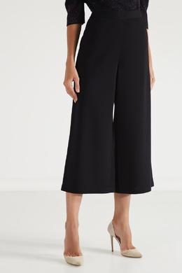 Свободные черные брюки St. John 1655149912