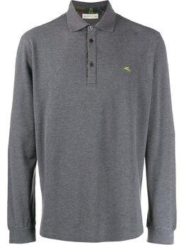 Etro рубашка-поло с логотипом 1Y9109681