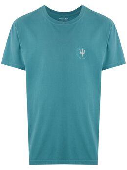 Osklen футболка с принтом Tridente Hot 59344