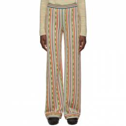 Missoni Multicolor Knit Pull-On Lounge Pants MDI00123 BR002N