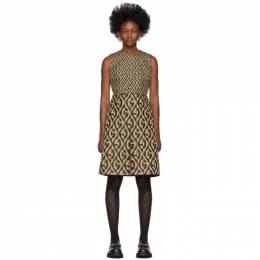 Gucci Beige and Brown GG Dress 192451F05200904GB